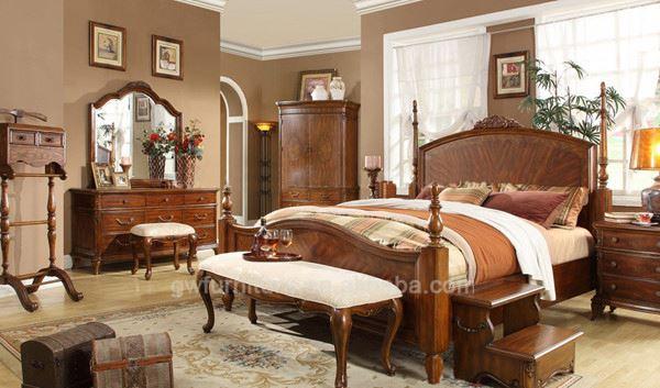 Solid Teak Wood Bedroom Furniture Set, Solid Teak Wood Bedroom ...