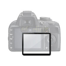 Hard Clear Optical Glass LCD Screen Protector Cover for Nikon D300 D300S