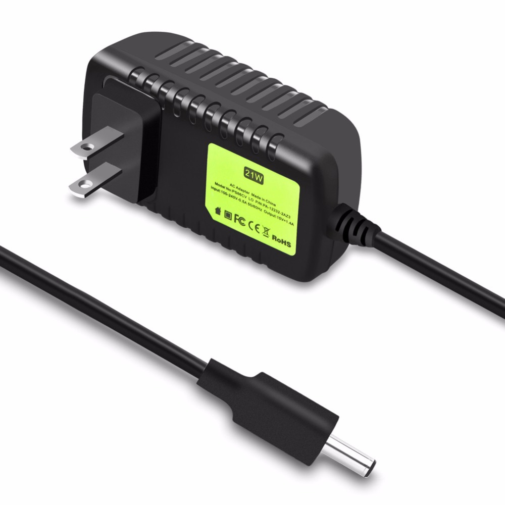 Power <strong>Adapter</strong> For Amazon Echo (2nd Generation) Cable 6.8ft 21W Charge Power Supply
