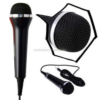 Universal Handheld Usb Audio Wired Karaoke Microphone Mic For Ps4 / Slim /  Pro For Ps3 / Xbox One S / 360 Wii Pc - Buy Microphone Mic For