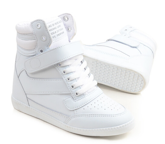 83651e09ef02d Buy Korean Shoes White Sneakers 2015 Fashion High Top Women Sneakers  Increased Casual Sports Shoes Platform Sneakers in Cheap Price on  m.alibaba.com