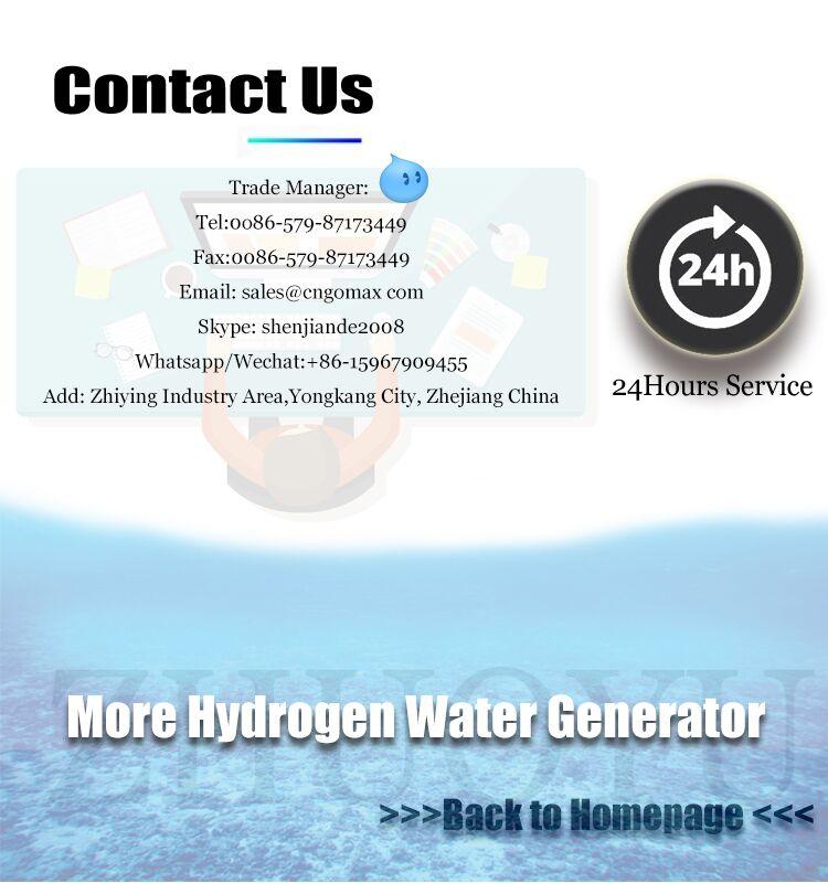 ZHUOYU Nouvelle Conception SPE Technologie PEM Membre Hydrogène Bouteille D'eau/machine À Eau À Hydrogène
