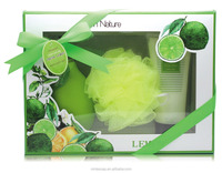Lime Fragrance bath and body gift sets/ bath spa kits