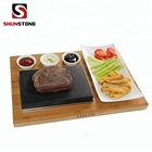 Cheapest BBQ Grilling Stone and gift new ,Lava Rock Grill Stone Set