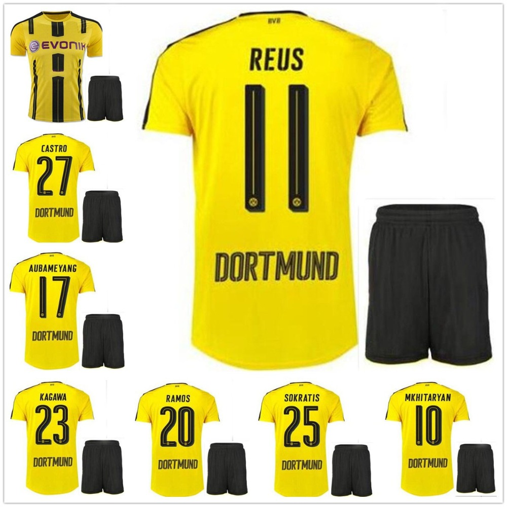 quality design 2cec2 60dcf Font Jersey Borussia Dortmund 2017 Jersey - staffevent