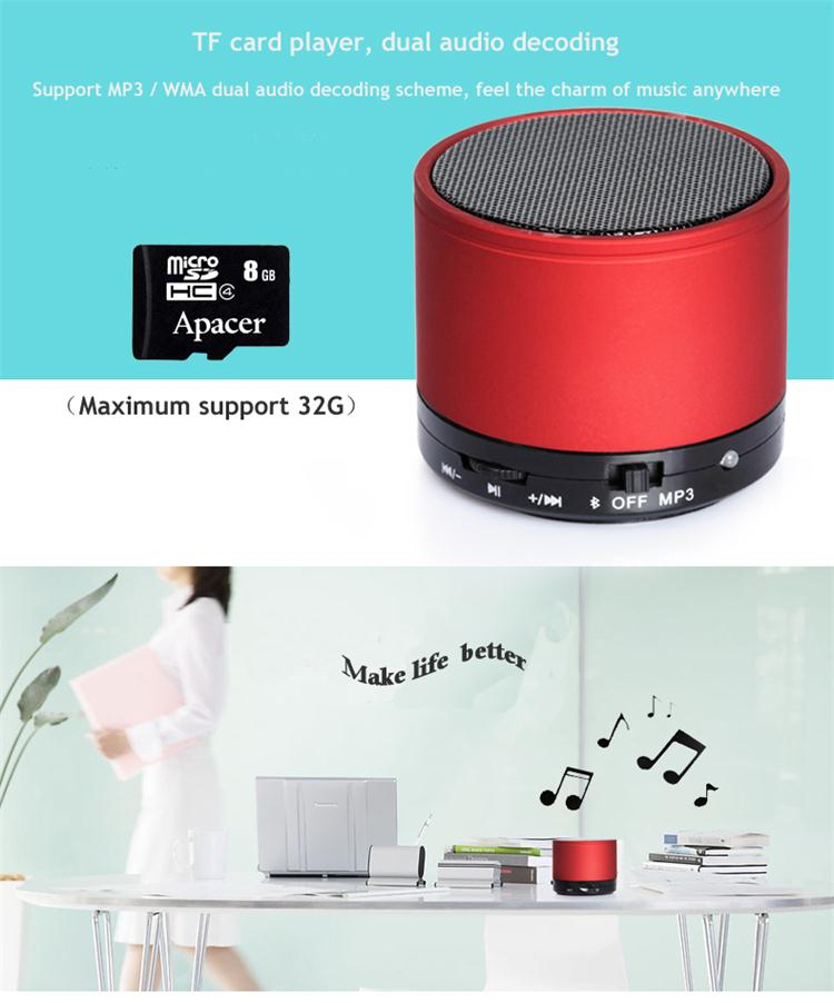 USB charging mouth smart loudspeaker box Support for answer callback and MP3 player