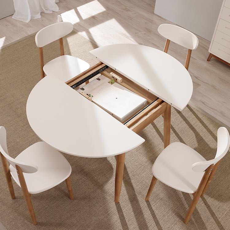 Moderno Tavolo Da Cucina E Sala Da Pranzo Allungabile Per Piccoli ...