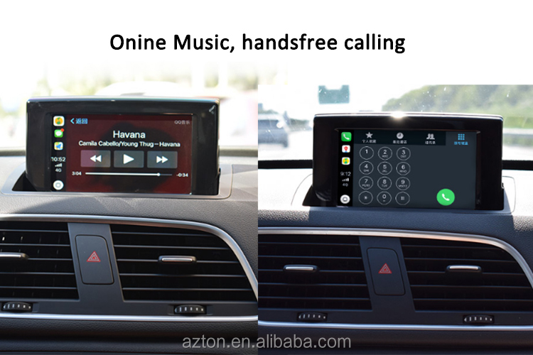 Draadloze Oem Apple Carplay Retrofit Auto Video Interface Met Android Telefoon Mirroring Voor Audi A4 A5 Q5 NON-MMI Auto Spelen kits