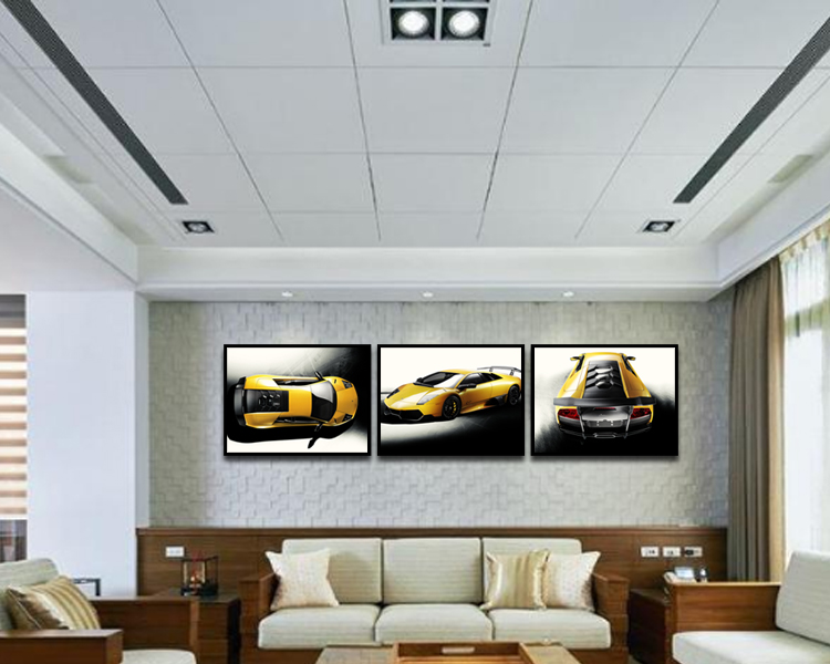 Modern Home Decor Wall Hang Pictures Glass Painting Designs - Buy ...