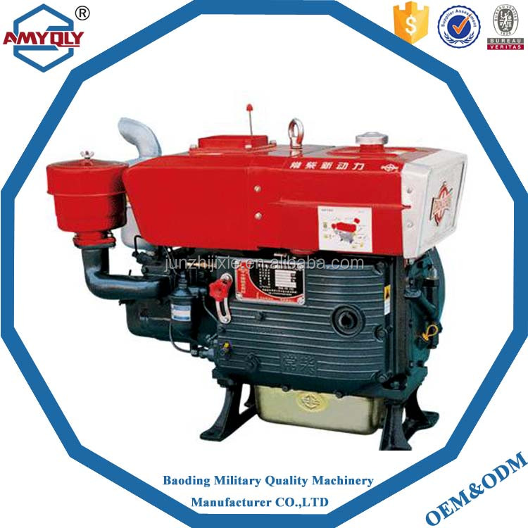 Cheap water cooled diesel engine/single cylinder engine/R175/7HP diesel engine
