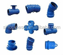 ductile iorn 90 Degree Double Socket Bend