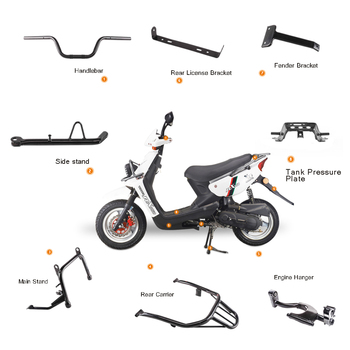 Factory Oem Custom Motorcycle Body Spare Parts And Accessories For Yamaha  Motorcycle Model Fzs,Fz16,Rx100 - Buy Motorcycle Parts,Motorcycle