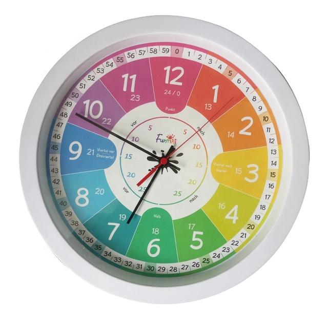 Horloge Murale Silencieuse Pour Enfants | Meilleure Horloge Amusante Éducative Pour Enfants,Apprentissage,Horloge Pour Enfants Buy Horloge