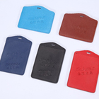 Custom business blocking pu leather credit card holder