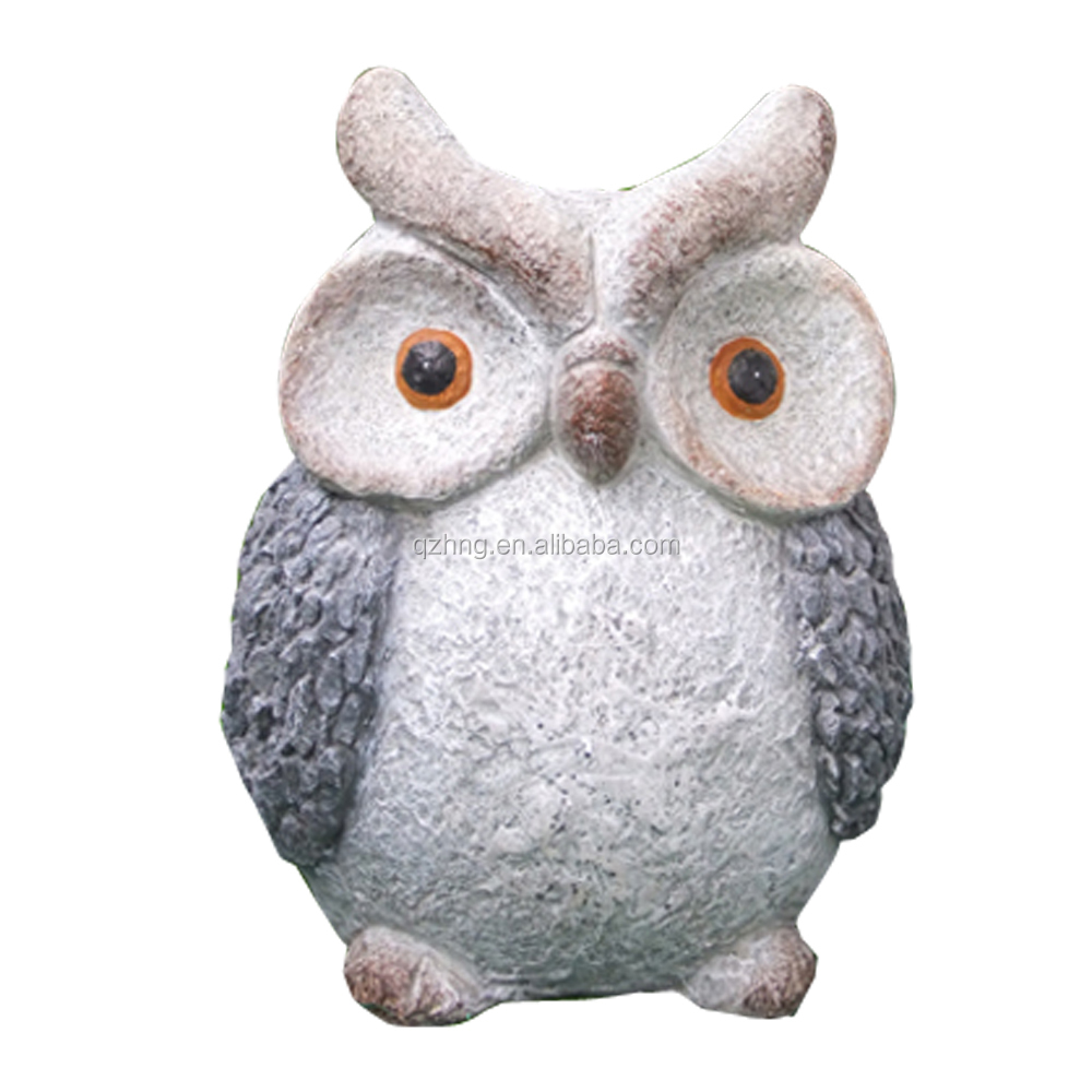 Garden Decorative Polyresin Animal Resin Owl Statue Figurine