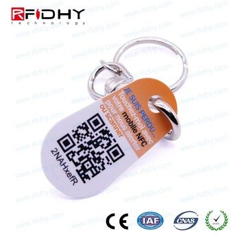 64 bit iButton key tag , RW1990 TM key tags , handle TM card