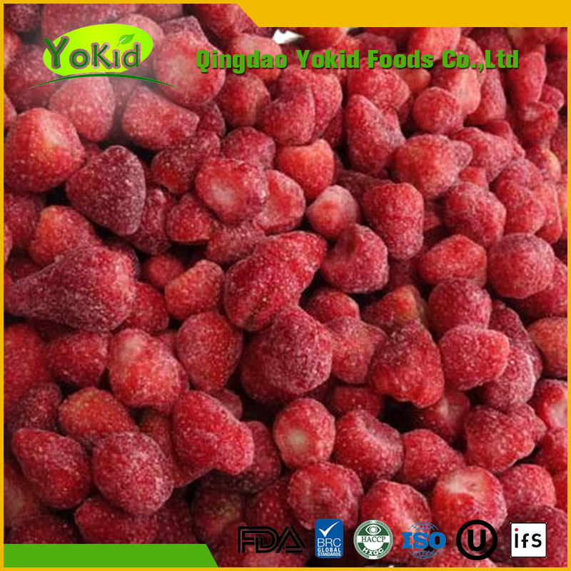 Export Bulk High Quality Products Red Color Frozen Strawberry
