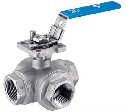 made in china hot sale 3 way ball valves 4 inches stainless steel