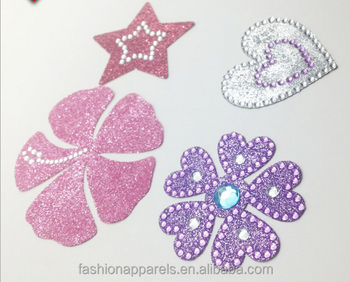 Glitter Fabric StickersCustom Design Glitter Acrylic Stone - Custom glitter stickers