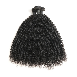 Virgin Natural Color New Arrival Kinky Curly Malaysian Virgin Hair For Black Women