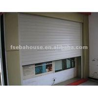 Motorized aluminum roll up door garage door screen rollers garage remote control