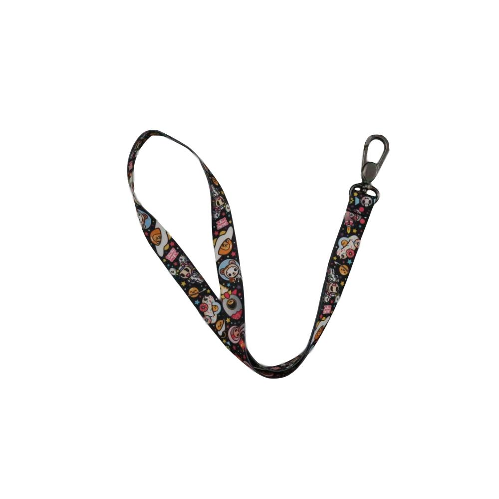 High-Quality Creative Polyester Sublimation  Custom For Disneys Lanyards
