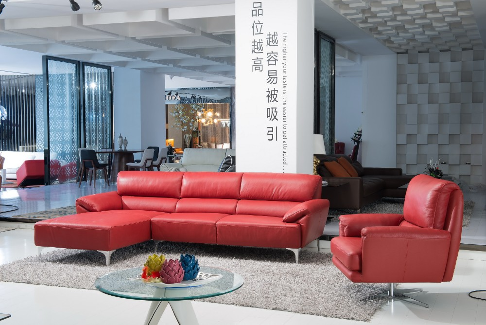 2016 Vv Sofa China Modern High End Living Room Functional Leather