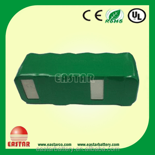 Most popular nimh battery 14.4V 2500mAh ni-mh battery for vacuum cleaner