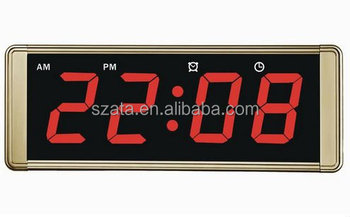Ce rohs iso approved led light digital wall clock buy led light ce rohs iso approved led light digital wall clock aloadofball Gallery