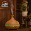 Air Humidifier Remote Control Ocean Mist Wood Grain Aroma Diffuser 300ml Night Light Oil Diffuser Aromatherapy Diffuser