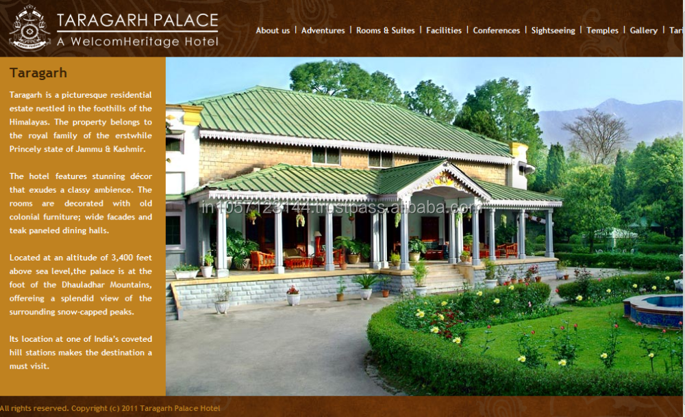 Royal hotel booking website design and development web for Hotel booking design
