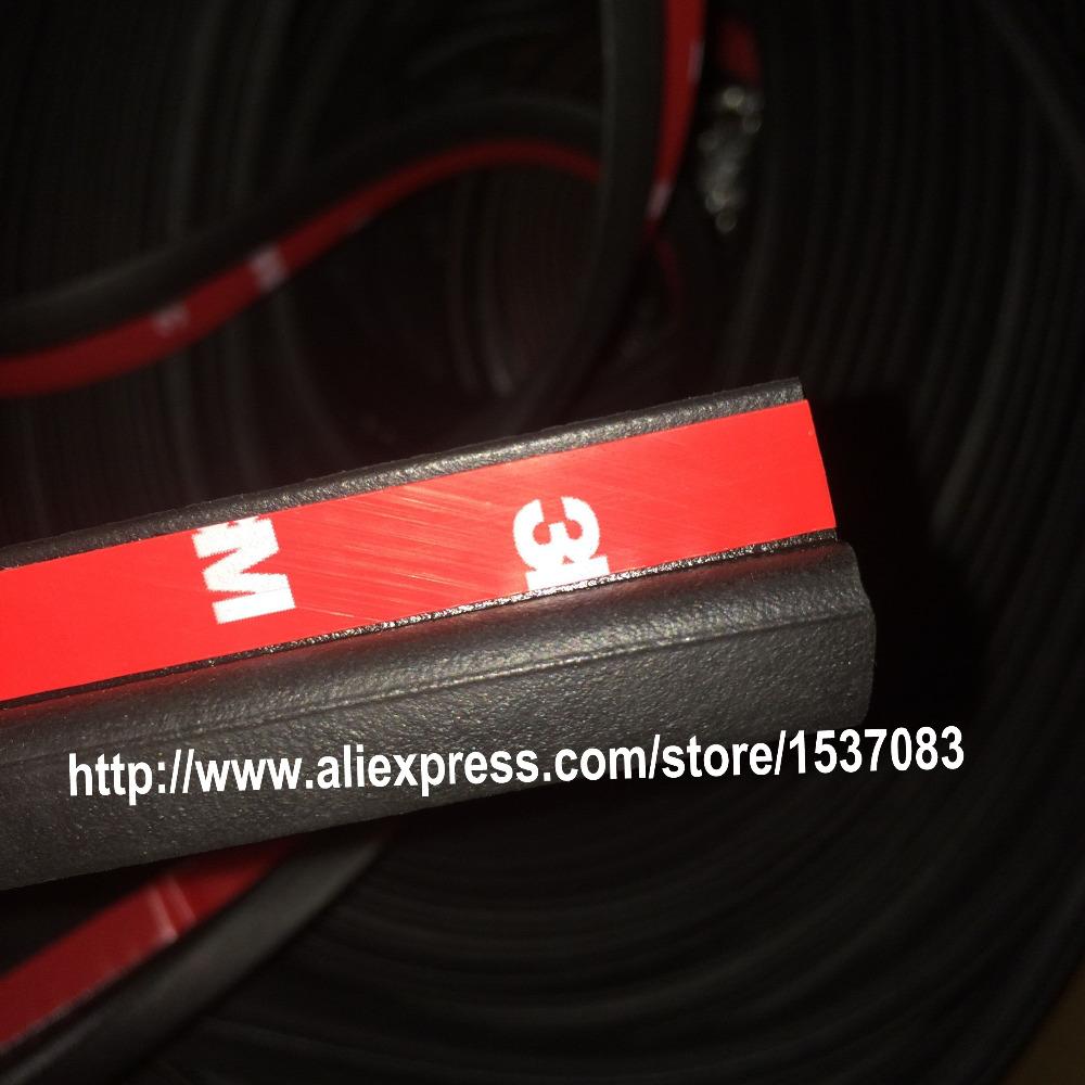 5mx24x4mm Z тип 3 м клейкие двери автомобиля резиновую уплотнительную прокладку нащельник шумоизоляция