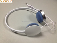 SP-A122 Isound Customized white Hi-Fi headset for music