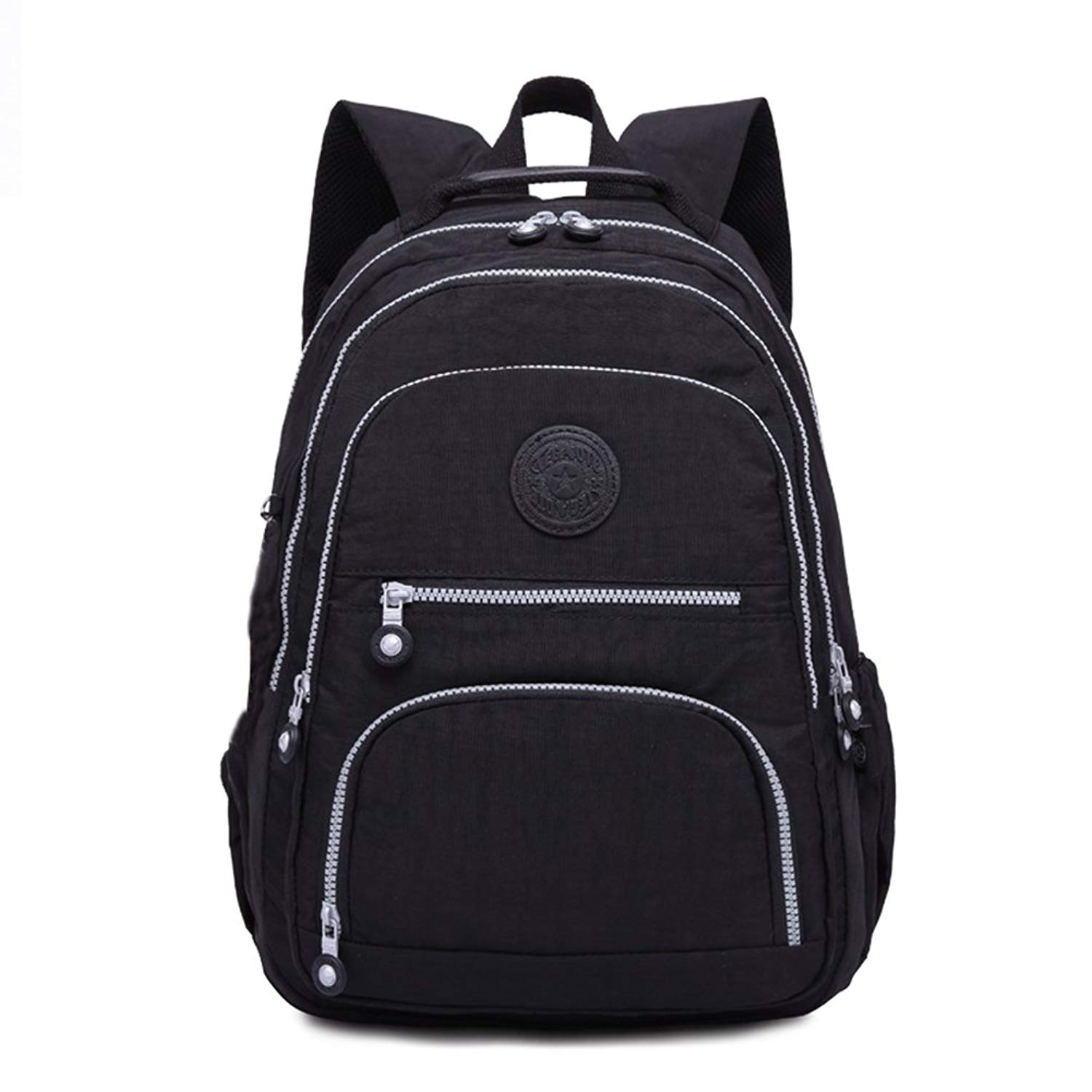 Classic Casual Daypack Ultra Lightweight Nylon Backpack Water Resistant  Bagpack 4e90281ac4
