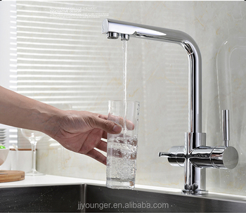 hot saling brass kitchen sink water filter tap with drinking water outlet. Interior Design Ideas. Home Design Ideas