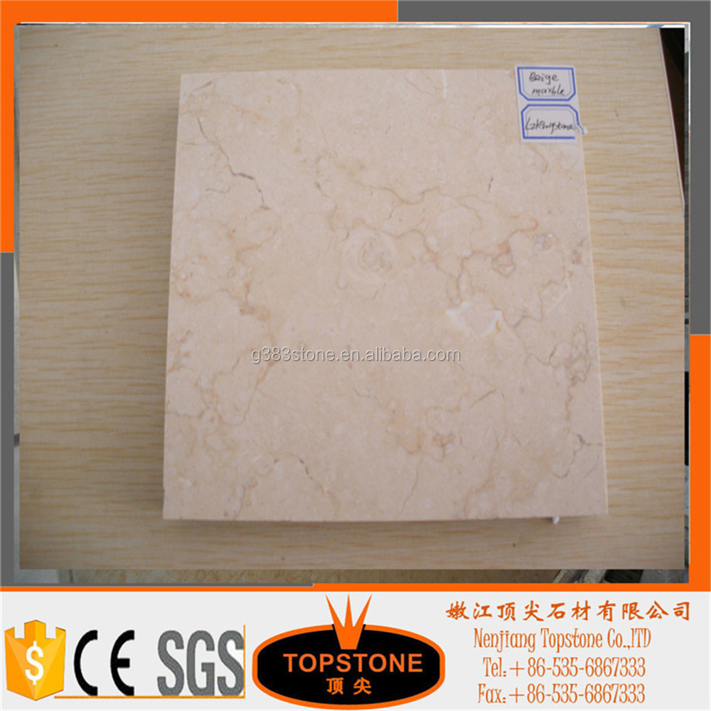 Cream Travertine Beige Marble Tiles for Marble Buyers