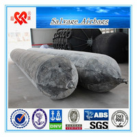 Best price floating rubber salvage airbag for sale