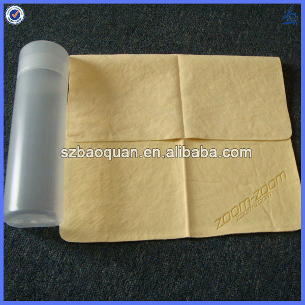 Eco-friendly anti-bacterial promotional cooling cloth with logo