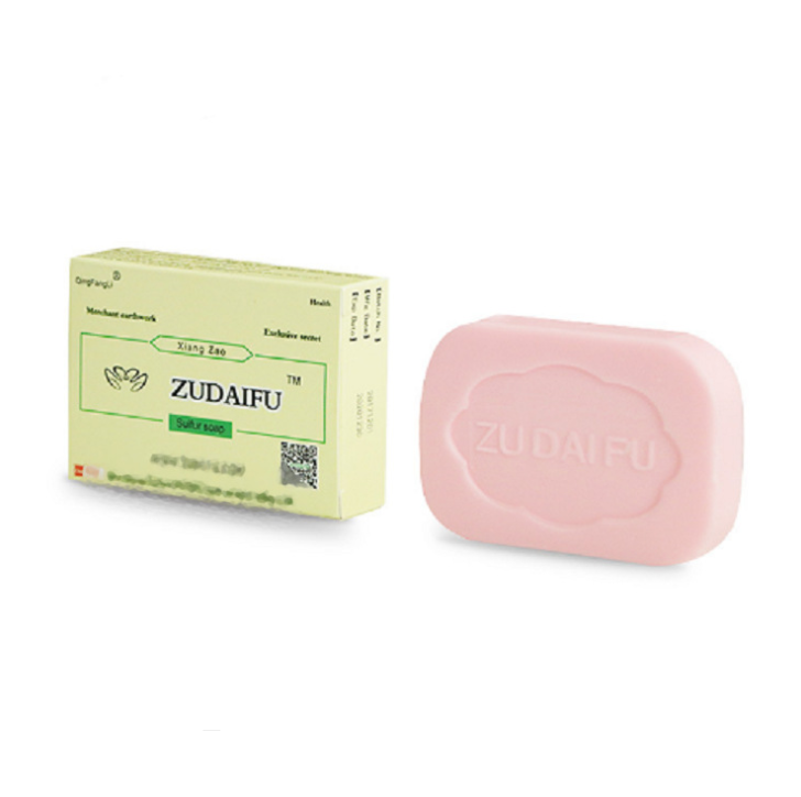 ZUDAIFU Sulfur Soap Skin Conditions Acne Psoriasis Seborrhea Eczema Anti Fungus Perfume Butter Bubble Bath Healthy Soaps