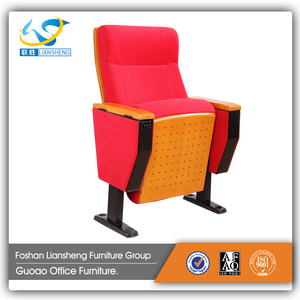 High quality cinema chair manufacturer wood auditorium Conference Chair LS-38
