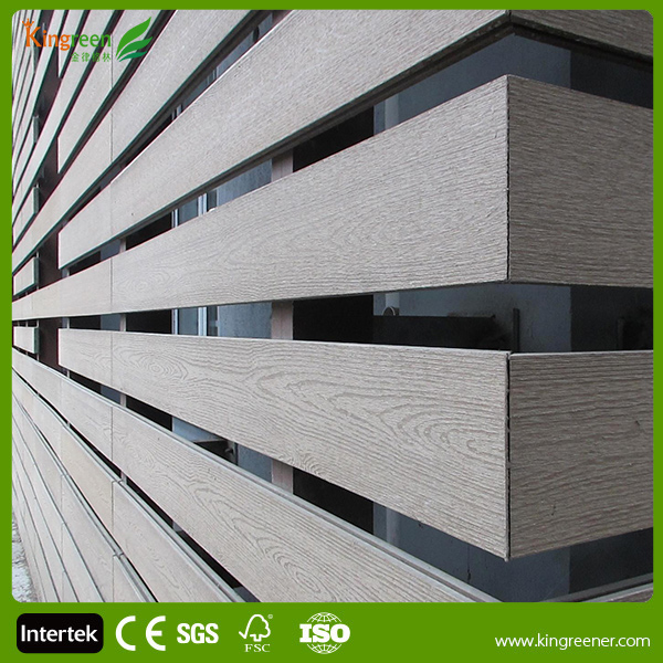 External Wall Cladding Factory Supplier Best Price Anti-Crack Exterior WPC Plastic Wood Wall Board