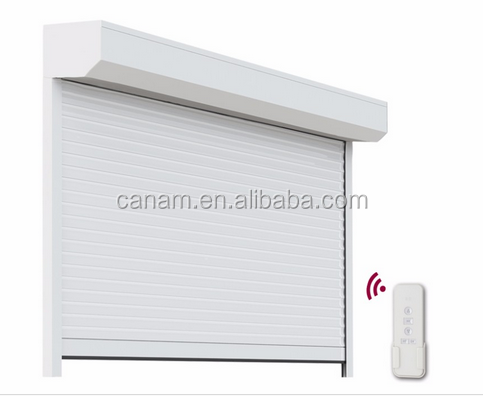 Energy-efficient Roller Shutter window Iron Steel Security Door