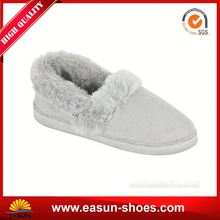Low prices ladies fleece slipper moccasin ladies loafer shoes ladies pu casual shoes