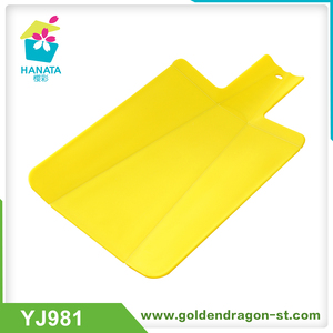 folding chopping board food grade plastic cutting board