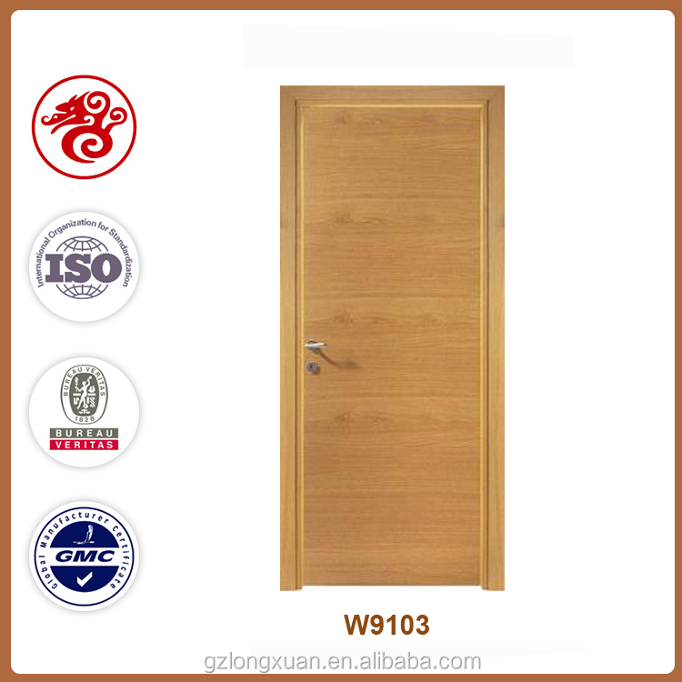 wood door design 90 mins fire proof door fire rated wood door for sale