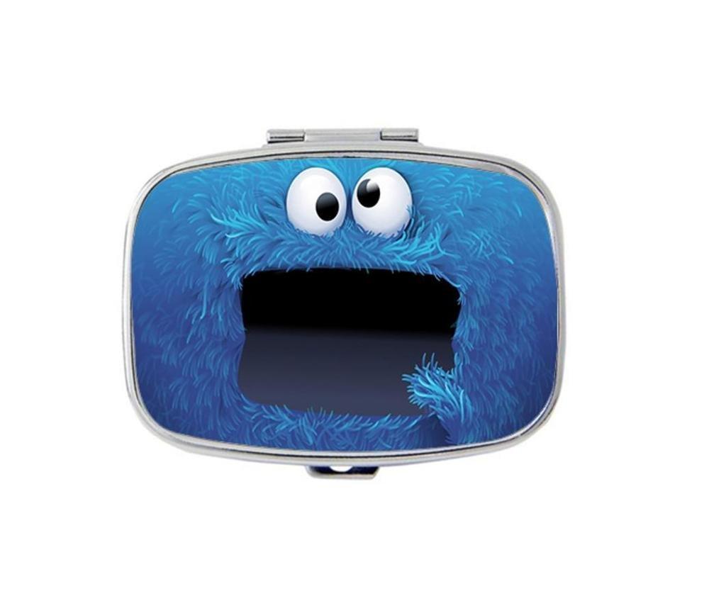 Carvin Design Rich Custom Personality Square Medicine Pill Vitamin Box Case Storage Dispenser Organizer Holder