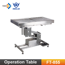FT-855 Tilt Top Multi-functional Pet Surgical Exam Operation Table Veterinary Supply