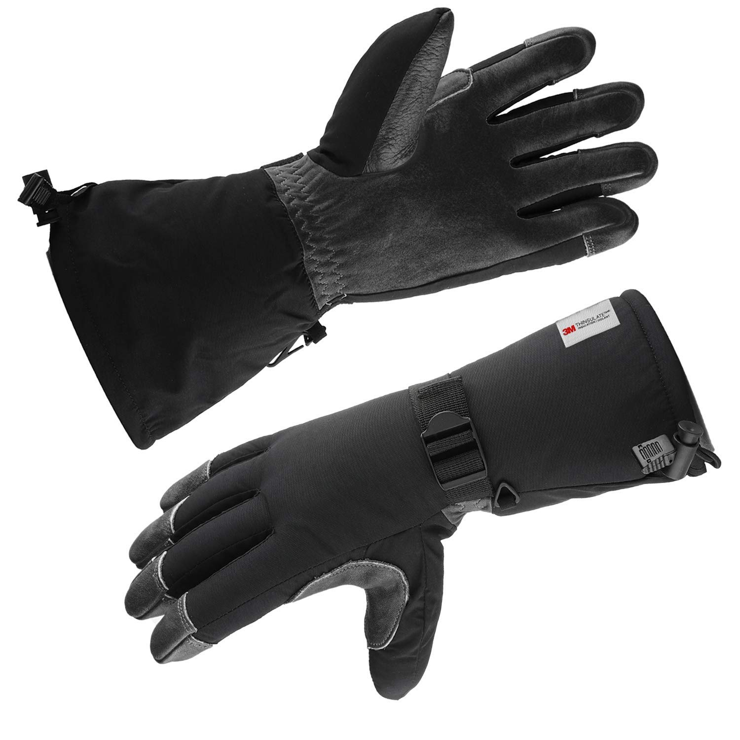 a8d9217e16fce Get Quotations · Ski Snowboarding Winter Cold Weather Gloves Thermal  Protection 3M Thinsulate Insulation For Men And Women
