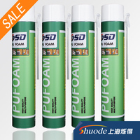 Best Selling window door construction 500ml 750ml PU Expanding Spray Polyurethane waterproof Insulation liquid foam sealant