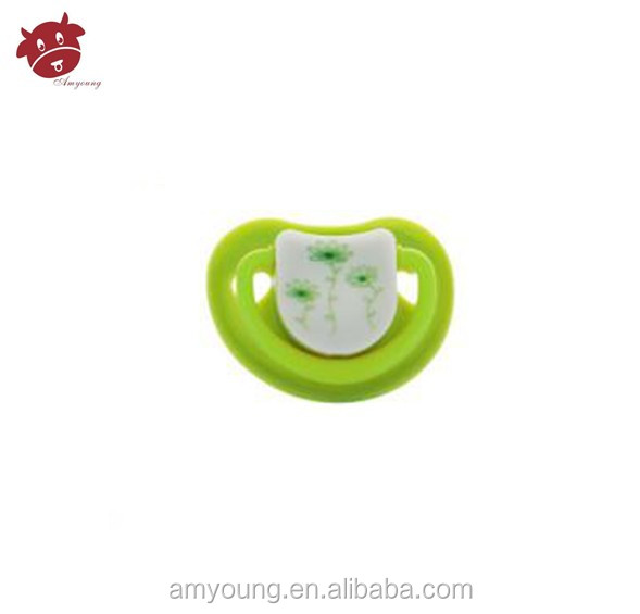 Cute del bambino teether ingrosso a-1081personalized ciuccio ciuccio del bambino del silicone